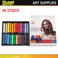 12/24 colors set China round temporary hair chalk, hair color chalk, color chalk for hair