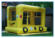 New design giant inflatable school bus,inflatable bouncer house,inflatable jumping castle for sale