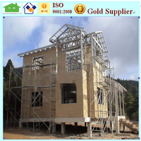 Residential steel structure frame home