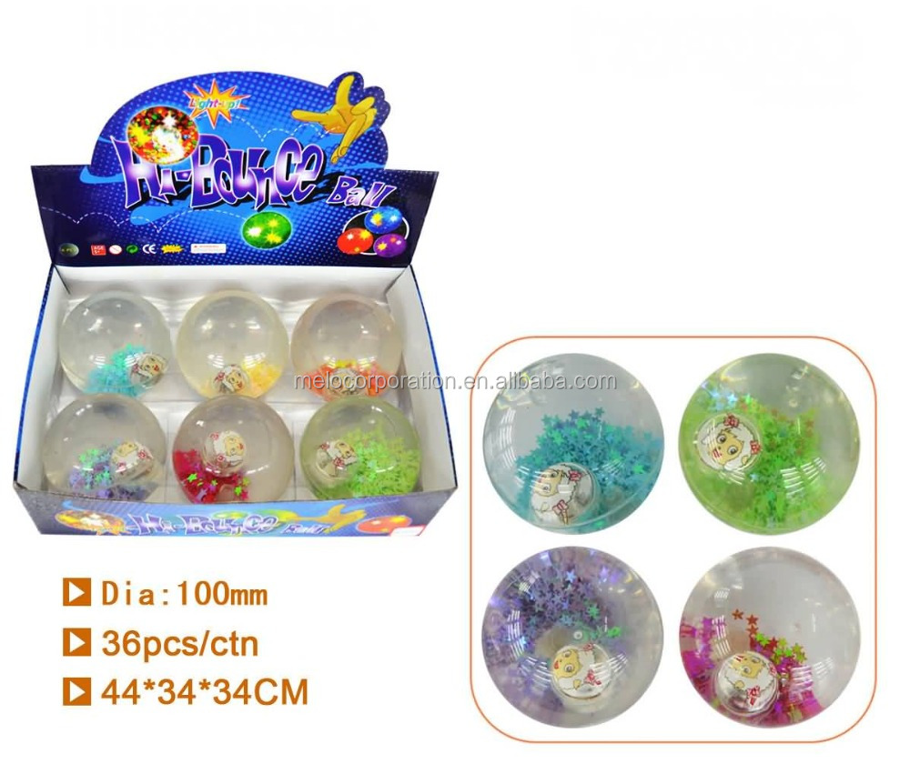 100mm super glitter water ball