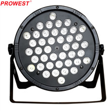 LED Can Par Light Plastic housing 42*1W RGBW Flat LED Par Light for Disco Home Party and Wedding