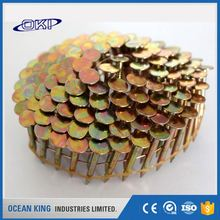 different decorative hot dipped galvanized flat common coil nails for pallet