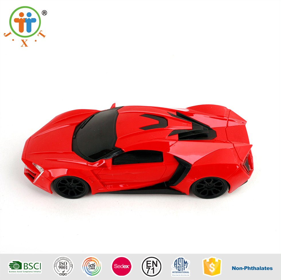 4 CH RC Car with Light, RC Sport Car Toys, Remote Control Model Car toys professional 2016