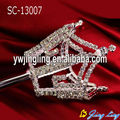crown style rhinestone wand crown scepters