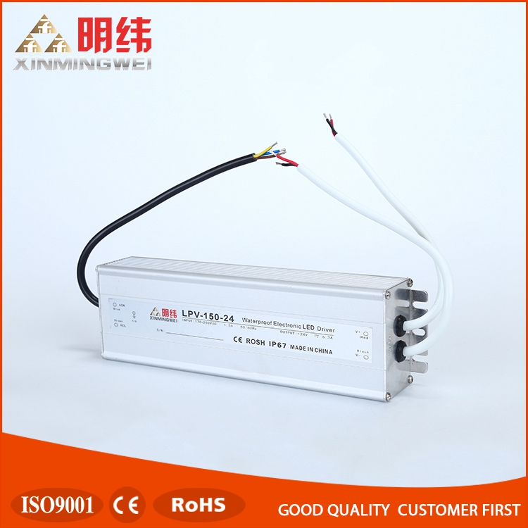 LPV-150-24 Factory wholesale waterproof function led dimmable driver ip67