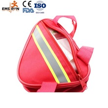 manufacture FDA CE ISO approved no handle mini emergency kit football medical kit first aid backpack