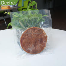 Hot sell transparent smooth clarity bag food for frozen food