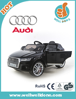 WDJJ298 Licensed car with remote control, two seats wheels BMW MINI beachcomber, 12v big toy car for kids ride on