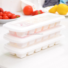 Custom printed White 12 Ice Cube Trays With Lid
