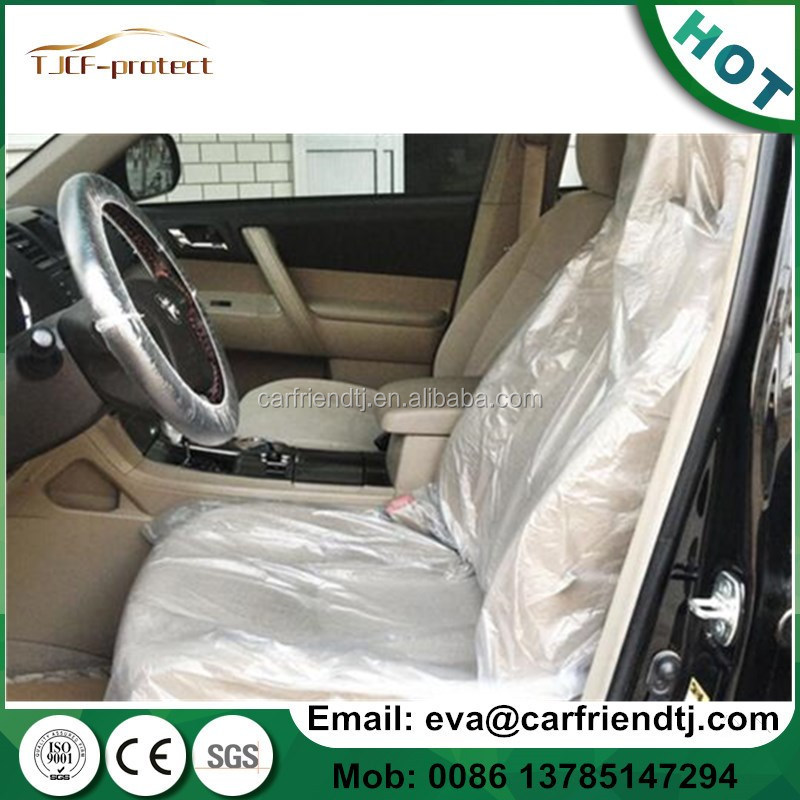Comfortable steer wheel cover/full set disposable car seat cover
