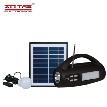 ALLTOP Factory direct supply smd 8 <strong>W</strong> multifunctional led solar emergency light