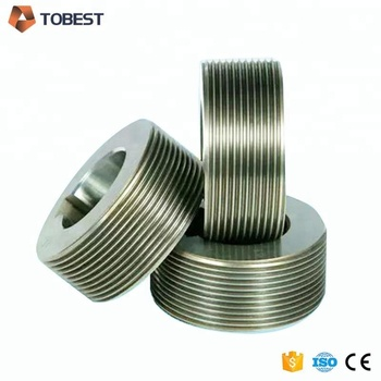 Tobest screw thread rolling dies thru-feed thread rolling dies