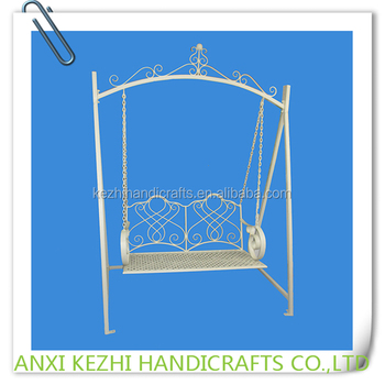 Kz150034 Metal Frame Hanging Double Chair Swing - Buy Swing Chair,Double Swing Chair,Hanging Double Swing Chair Product on Alibaba.com