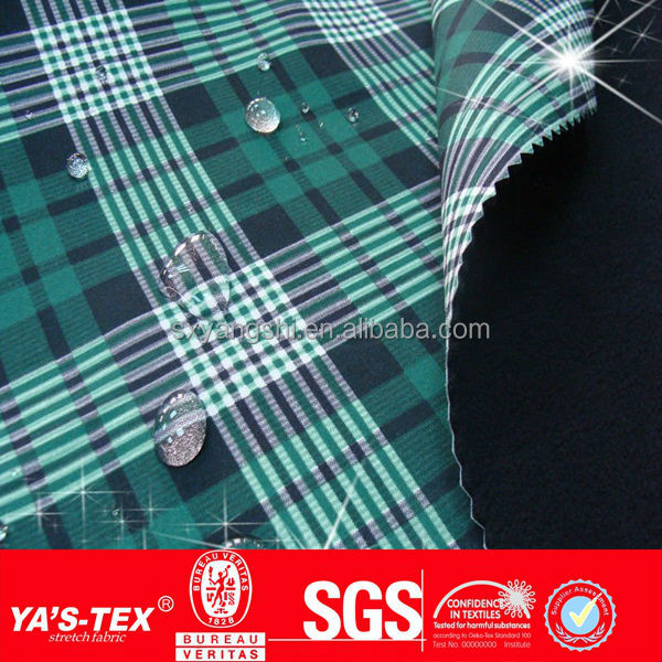 new design anti-uv super water repellent breathable stretch windbreaker fabrics for outdoor jackets