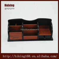 High-quality office pen container, wooden decorative box, wooden storage box # HX-1037