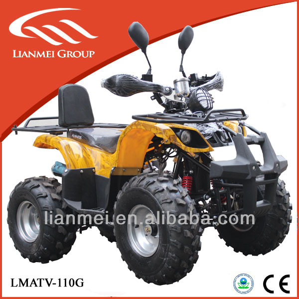 110cc engine power atv quad for kids