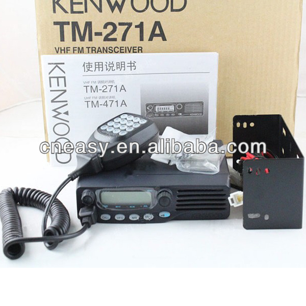 Professional VHF walkie talkie hf ham radio transceiver TM-271