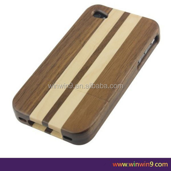 skateboard wood case,high quality custom logo phone wood back cover case
