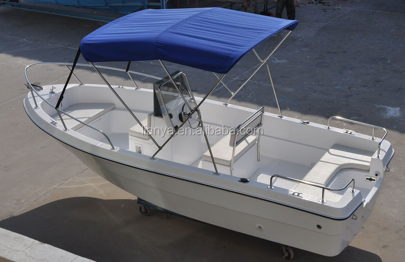 Liya small fiberglass boat commercial for Small fishing boats for sale