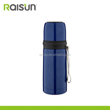 Hot Product Bullet Shape Thermos Bottle with Cups Stainless Steel Bullet Flask 350ml