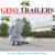 Australian standard 8*5 hydraulic tipping trailer with electric brake