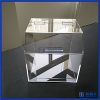 Hot Sale!! Yageli custom made acrylic candy bins wholesale for supermaeket, candy store / acrylic candy box