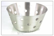Stainless Steel Olive Bread Basket