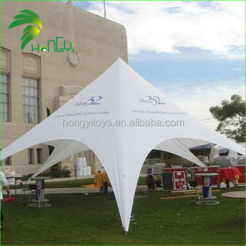 Customized Fireproof Star Shape Tent With Logo Printing For Sale