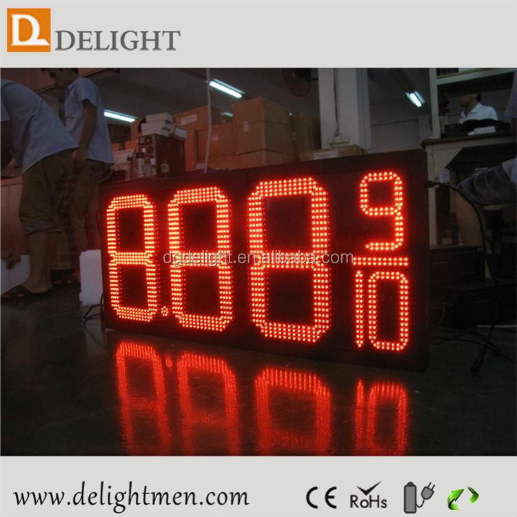 gas station billboard signs/ gas price signs digital/ led signs remote control