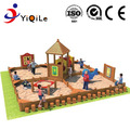 beautiful design wood plastic composite playground attractive outdoor playground for park funny playground for children used