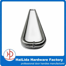 400mm length entrance satin stainless steel d handles for glass door