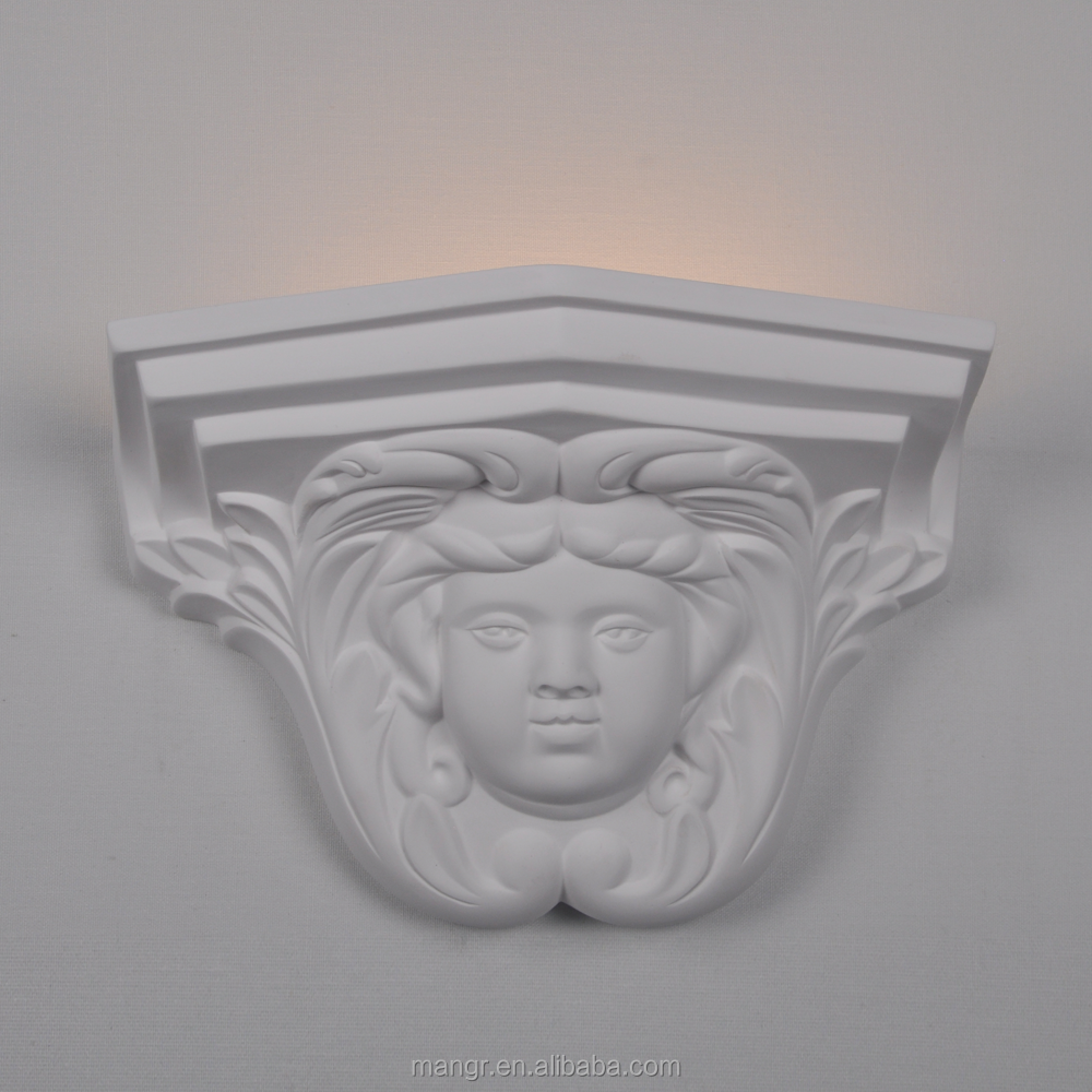 Wall-Light-MG-3104 Flexible Plaster Gypsum Wall Light/interior wall led light
