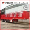 cheap Stake semi trailer for transportation of subsidiary agricultural products