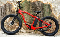 2016 latest motor powered bomber electric bike for road riding