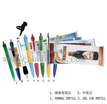 New retractable banner pens for promotion,pull out banner pen