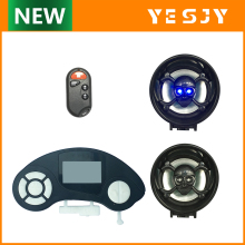 motorbike waterproof player system motorcycle mp3 audio
