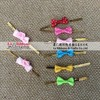 Best latest design ribbon bow with wire twist tie
