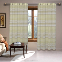 Latest Popular Very Cheap Linen Look Curtain For Living Room