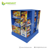 cardboard retail peashooter pallet display racks
