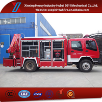 Top Hot Selling Hot Sale Fire Fighting Trucks Rescue Tender Truck