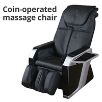 China & India Massage Chair/Coin Operated Vending Machine