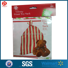 LDPE gravure printing plastic gift sacks-1 package for merry christmas