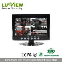 7 inch split screen car rear view quad monitor