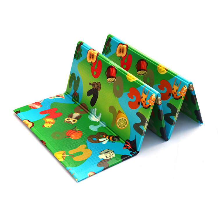 portable high quality and folding dwinguler eco-friendly kids play mat