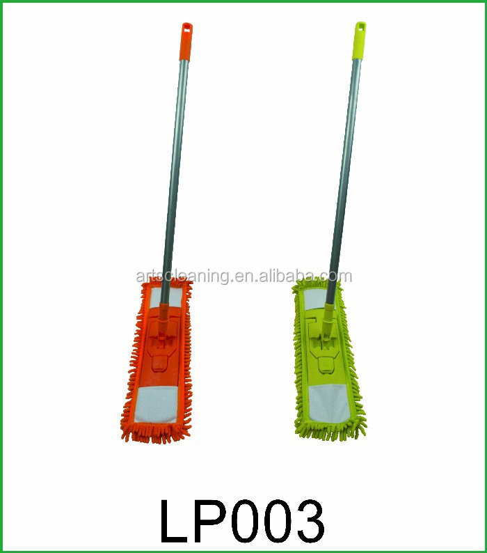 China Supplier Polyester Mop Head Material and Iron Pole Material Flexible Microfiber Mops