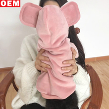 Pet clothing double gold velvet cute dog hoodie sweater ear method cattle Teddy clothes winter cat dog clothes wholesale