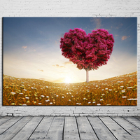 Framed Wall Art Pictures Printed Canvas Painting Home Decor For Living Room