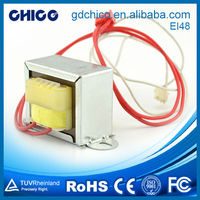 EI48 Winding convenient single phase micro transformer