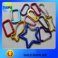 China factory outlet all kinds of star shaped hook,mini elliptical hook,colorful spring hook