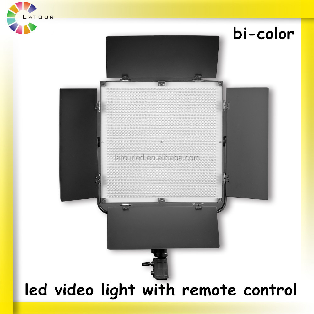 China factory sale led studio video lighting for tv film photography shooting led lighting equipment